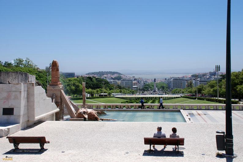 Mirador del Parque Eduardo VII. Lisboa. Portugal