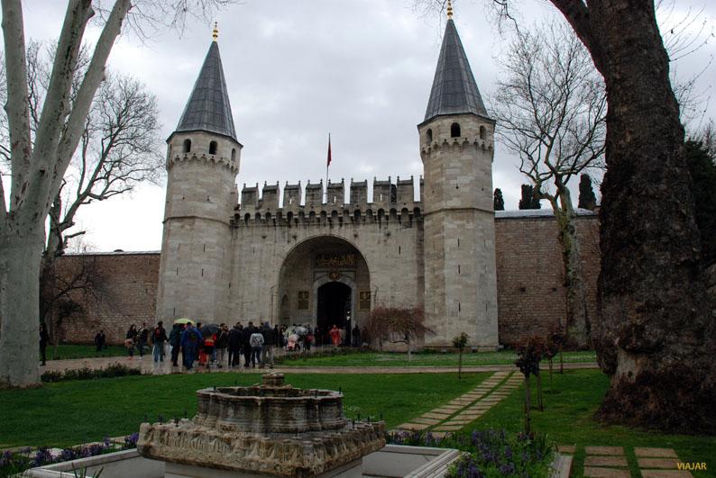 Palacio Topkapi. Sultanahmet. Estambul