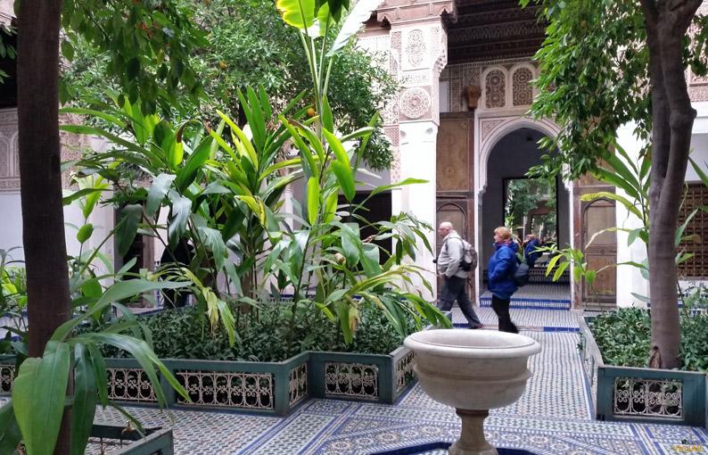 Palacio de la Bahía. Marrakech