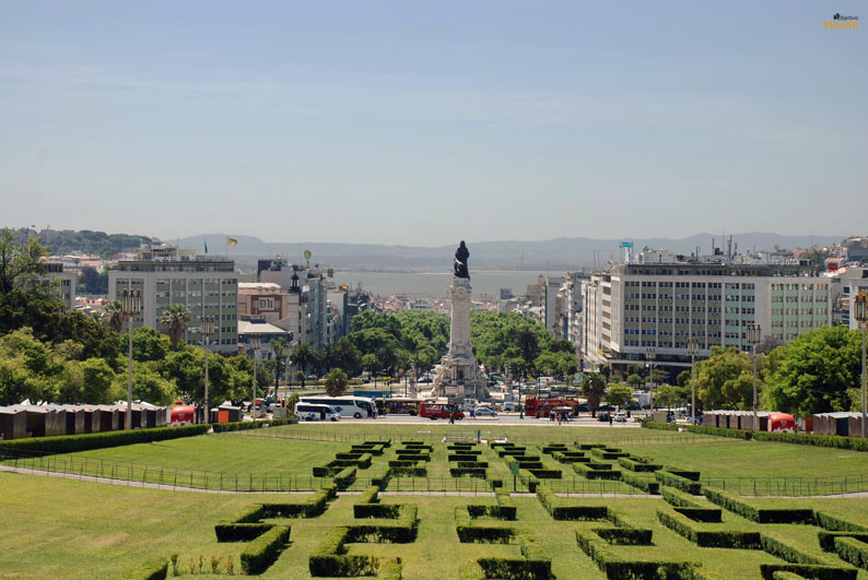 Parque Eduardo VII. Lisboa. Portugal