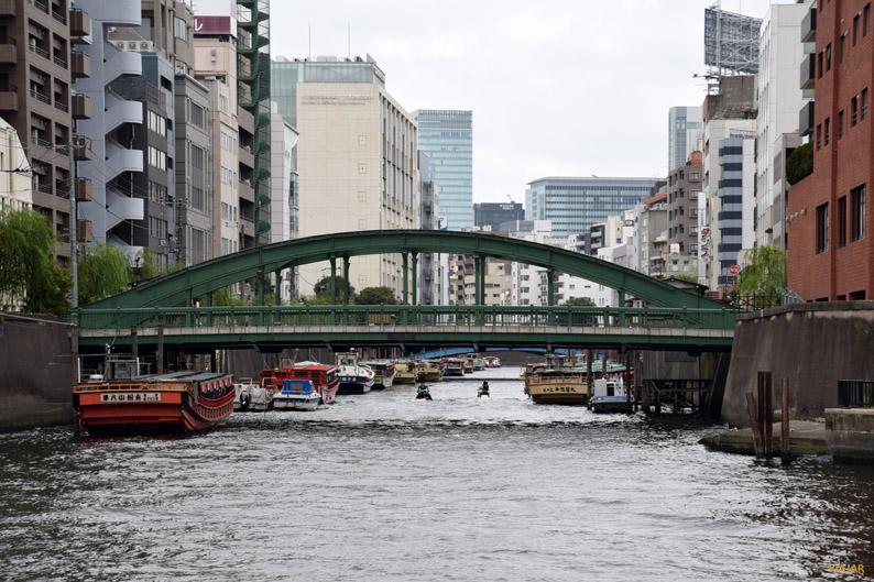 Paseo en barco por el río Sumida. Tokio
