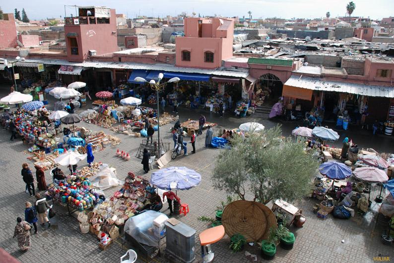 Place des Épices. Marrakech