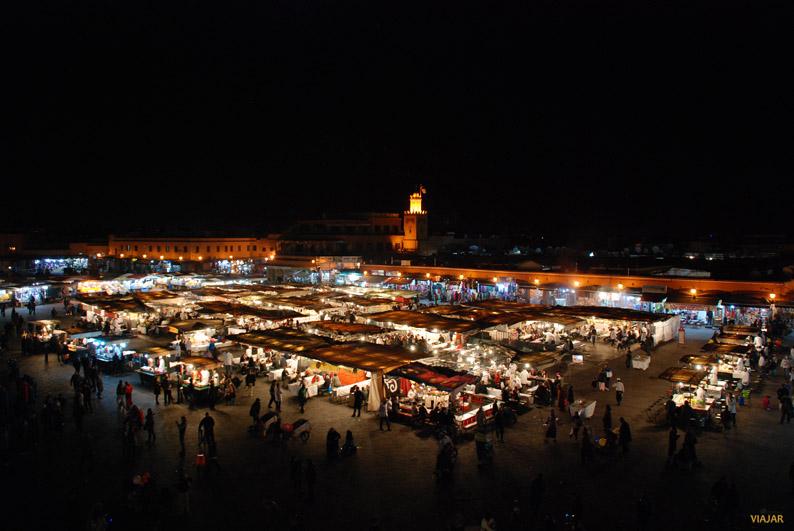 Plaza Yamaa el-Fna. Marrakech