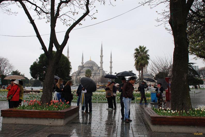 Plaza de de Sultanahmet. Estambul