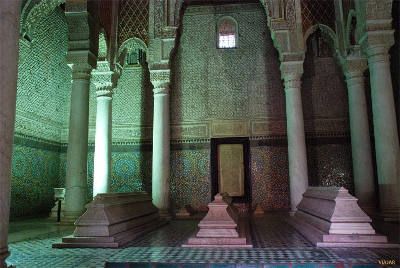Tumbas saadíes. Marrakech