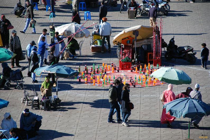 Yamaa el-Fna, el gran escenario de Marrakech