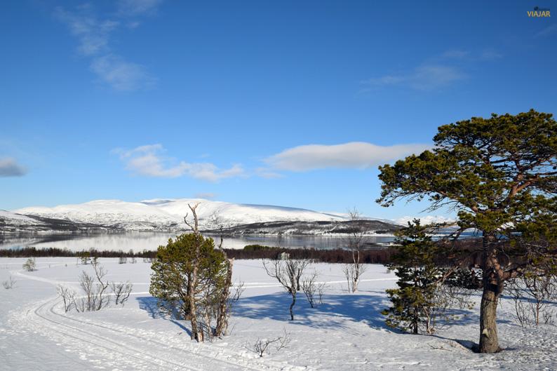 La seductora belleza natural de la Laponia noruega