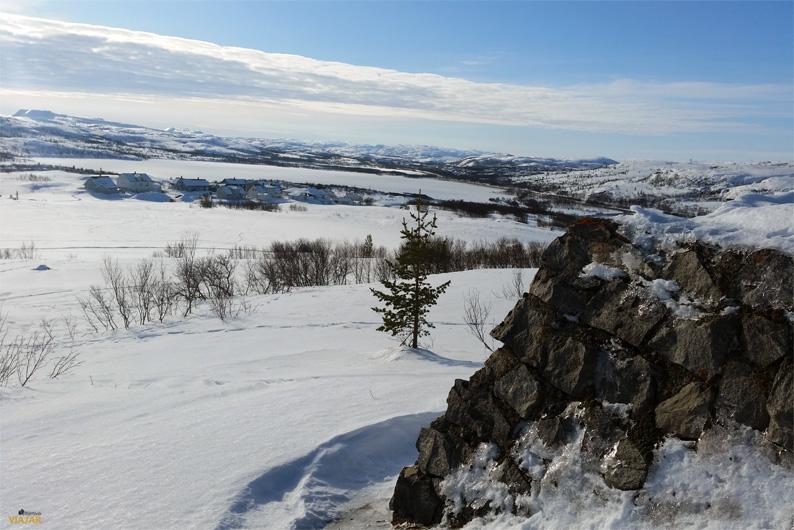 Paisaje de la Laponia noruega