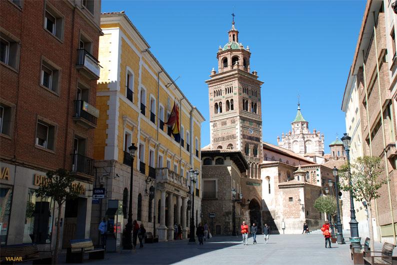 Plaza de la Catedral. Teruel