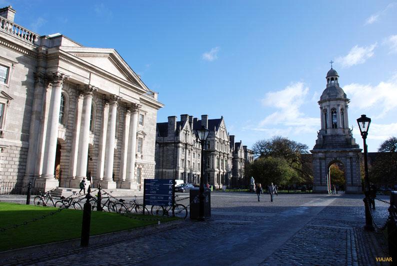 The Chapel. Trinity College. Dublin