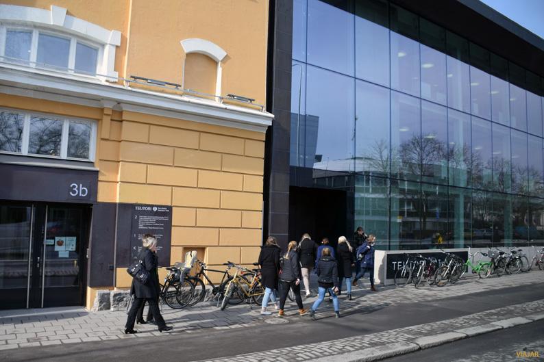 Ambiente universitario en Turku
