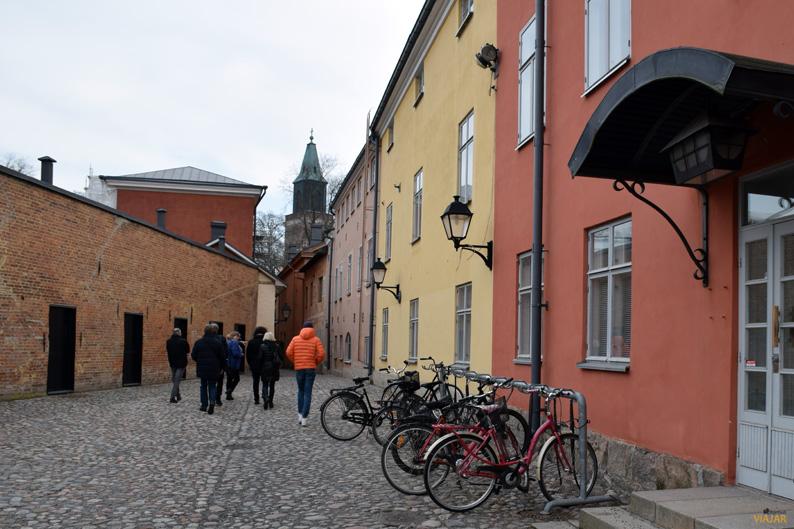 Callejeando por el casco antiguo de Turku