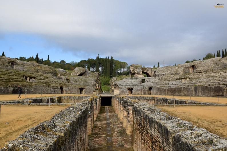 Conjunto Arqueologico de Italica. Provincia de Sevilla
