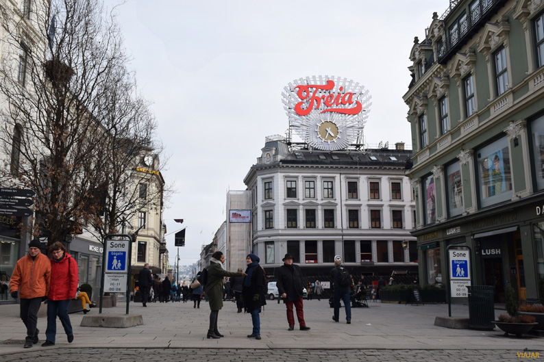 De compras por Oslo