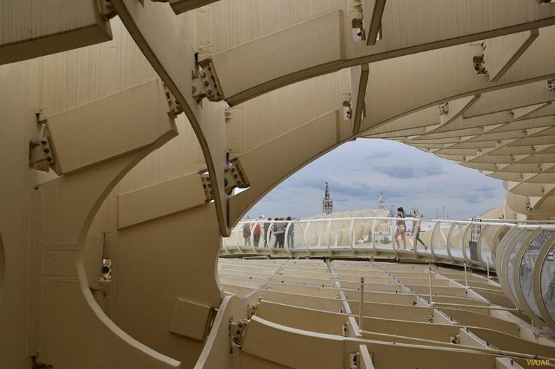 Las Setas de Sevilla, la estructura de madera mas grande del mundo