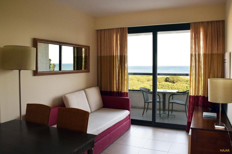 Mi junior suite en el Hotel ADH Isla Cristina