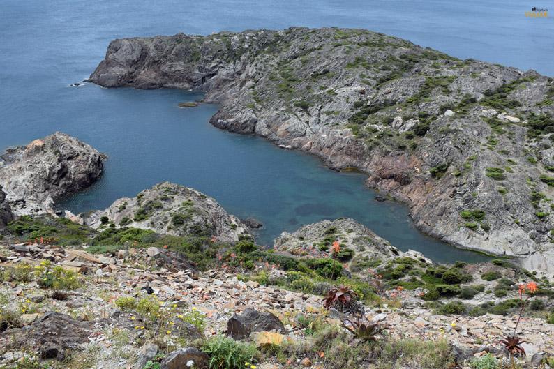 Paisaje del Parque Natural de Cap de Creus desde el faro