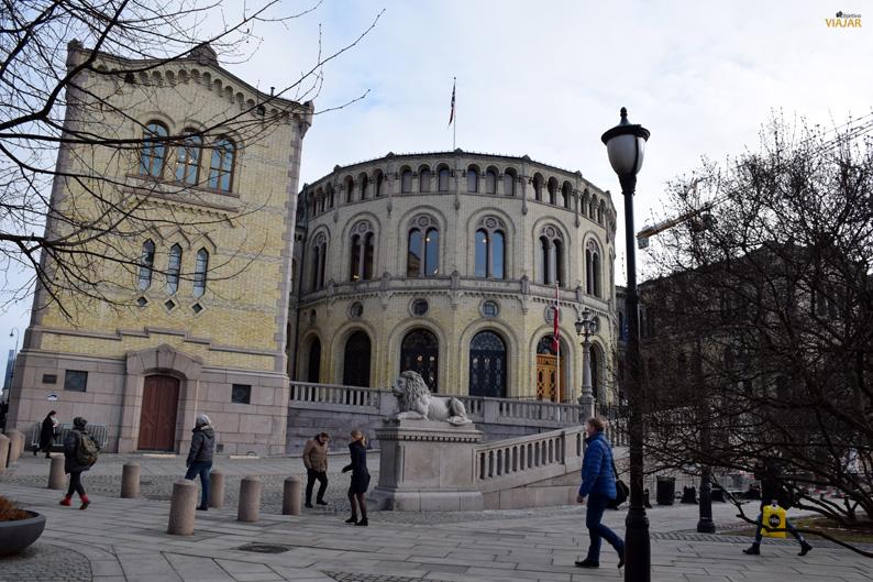 Parlamento de Noruega. Oslo
