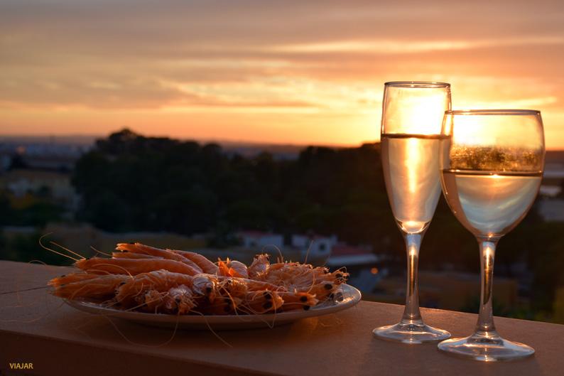 Puesta de sol. Hotel ADH Isla Cristina