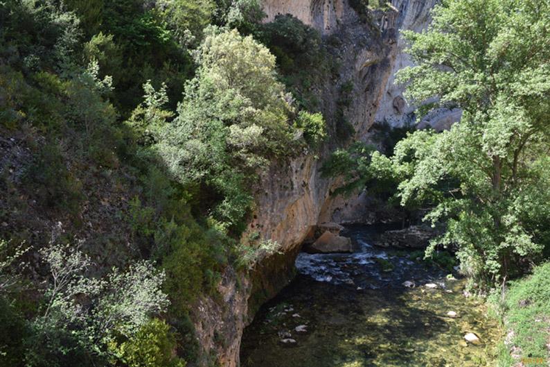 Río Escabas. Vía ferrata de Priego