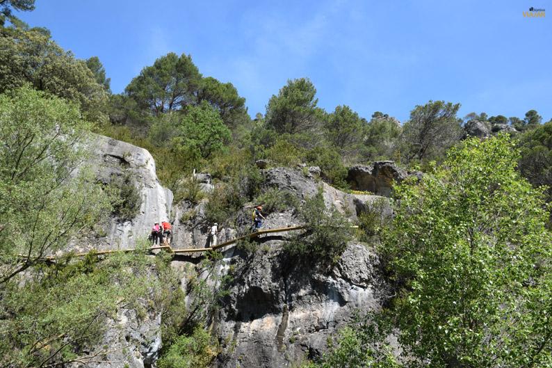 Vía ferrata de Priego. Cuenca
