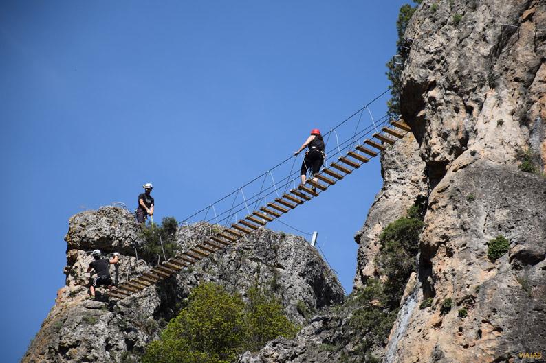 Vía ferrata de Priego, provincia de Cuenca