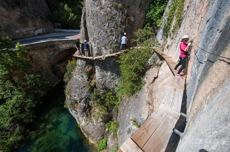 Vía ferrata de Priego. Provincia de Cuenca @ Fotonazos