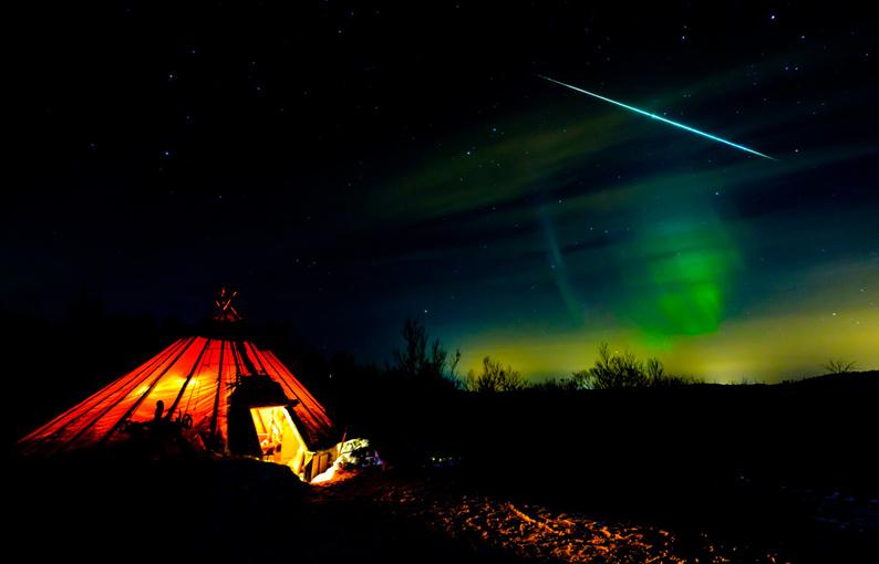Aurora boreal © Joan Vendrell