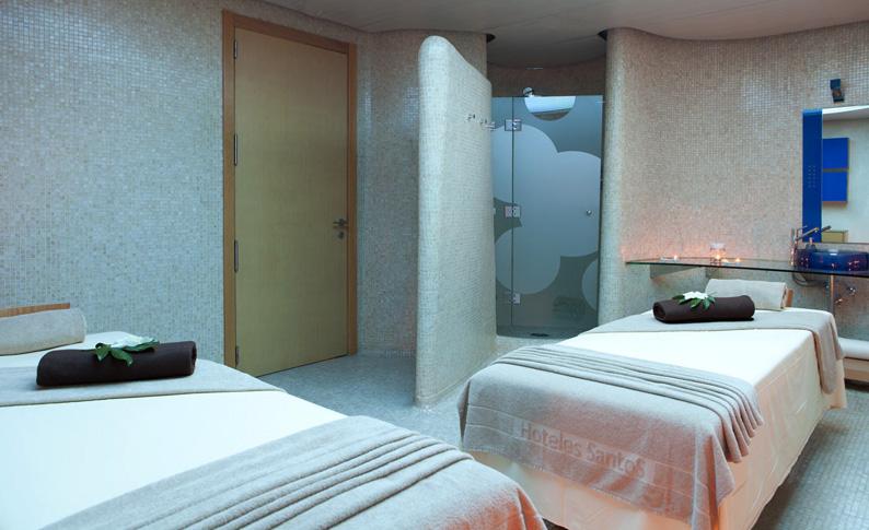 Cabina del spa. Hotel Las Arenas Balneario Resort