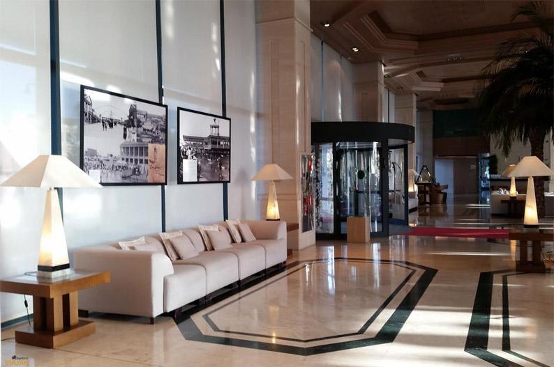 Hall. Hotel Las Arenas Balneario Resort