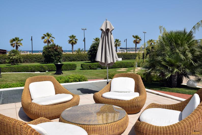 Jardines. Hotel Las Arenas Balneario Resort
