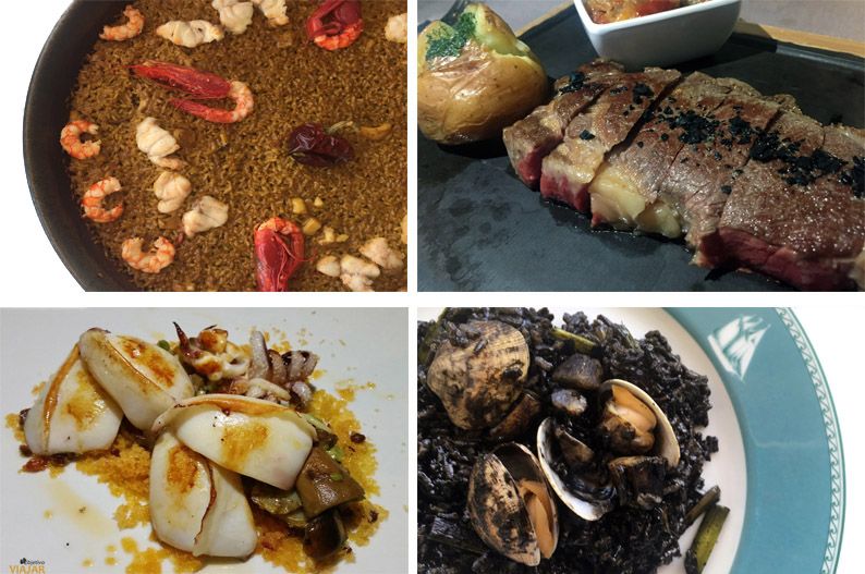 Los sabores de la Brasserie Sorolla. Hotel Las Arenas Balneario Resort