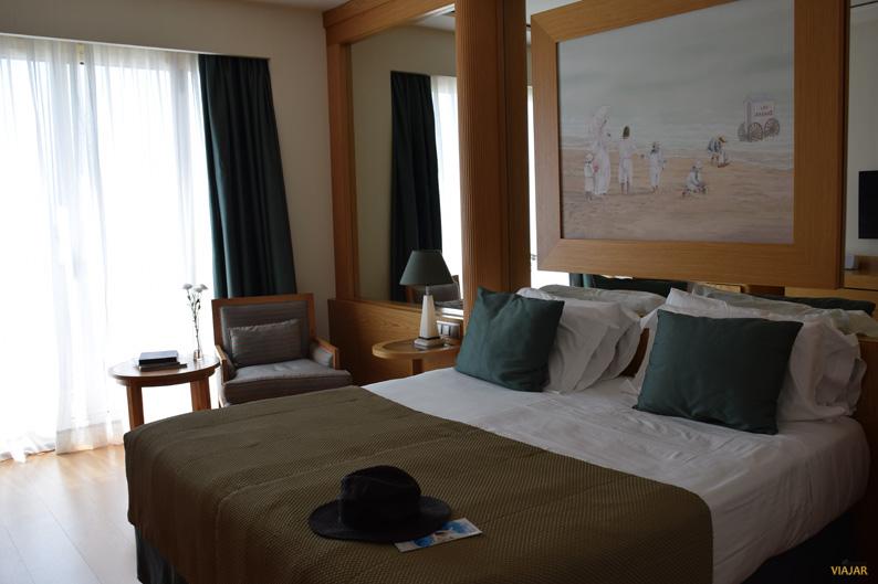 Mi habitación deluxe en el Hotel Las Arenas Balneario Resort