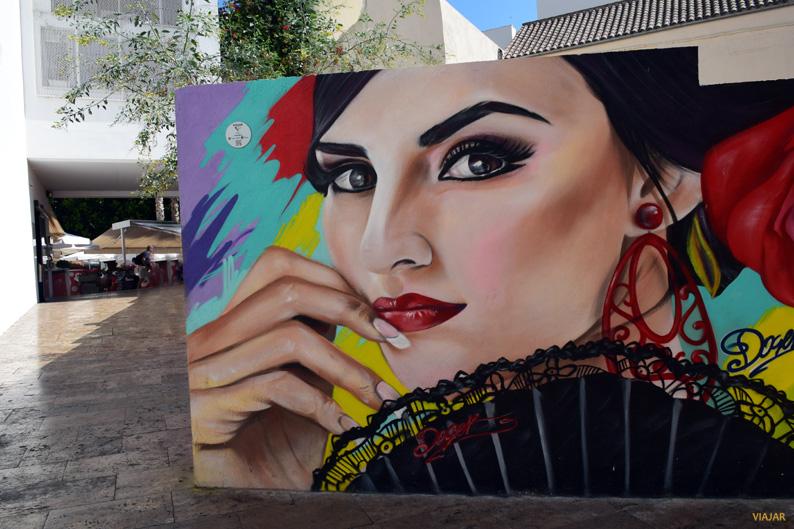 Arte urbano en Málaga. Costa del Sol