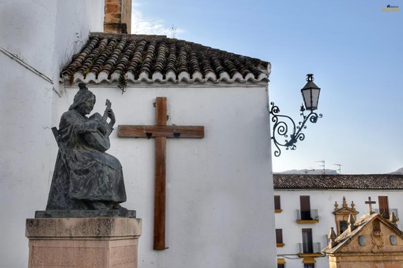Estatua de Aniya la Gitana. Ronda. Costa del Sol