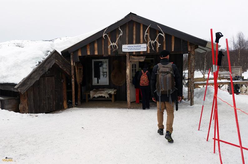 Instalaciones del Kirkenes Snowhotel. Hotel de hielo