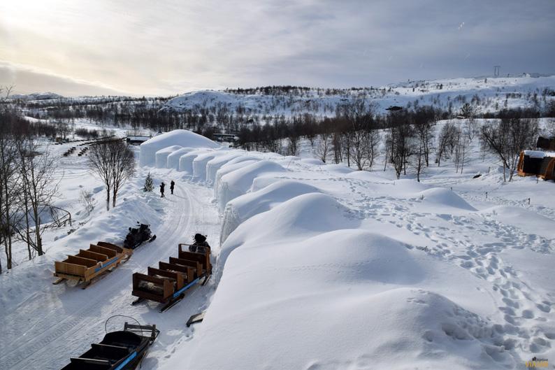 Kirkenes Snowhotel. Hotel de hielo