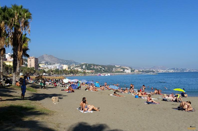 Playa de La Malagueta, Málaga. Costa del Sol