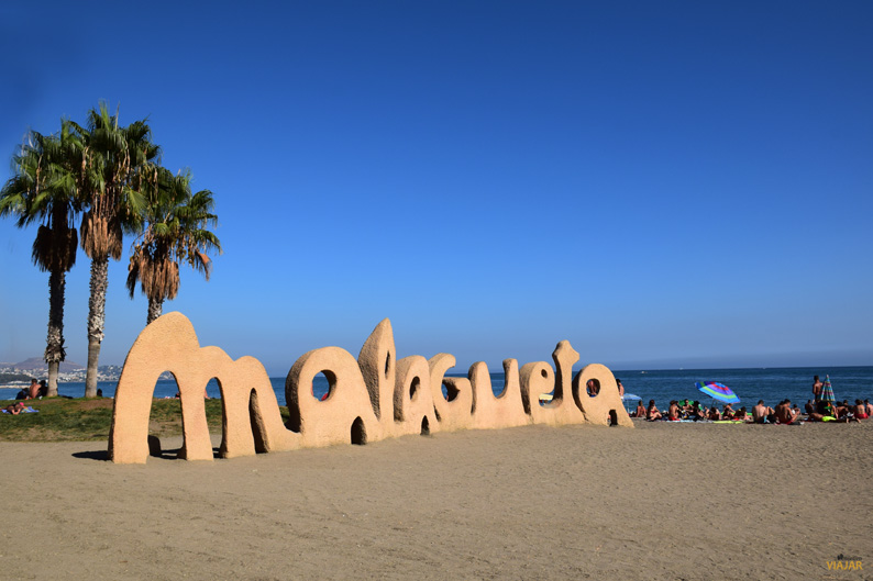 Playa de La Malagueta. Malaga. Costa del Sol
