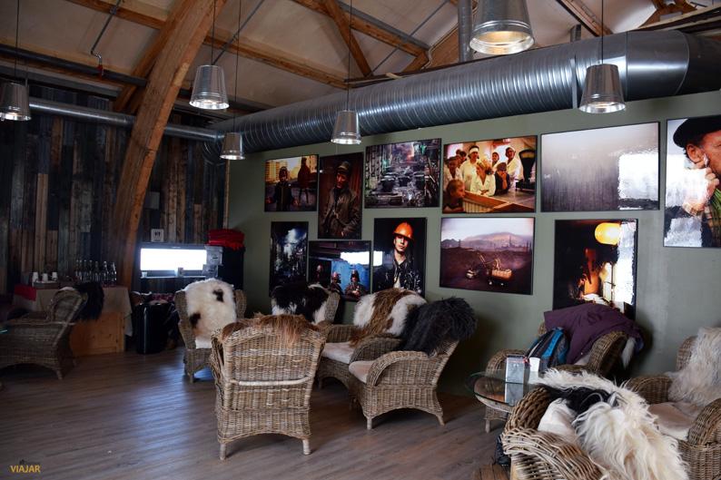 Sala de descanso. Kirkenes Snowhotel