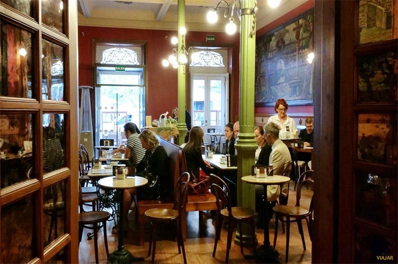 Café Moderno. Pontevedra