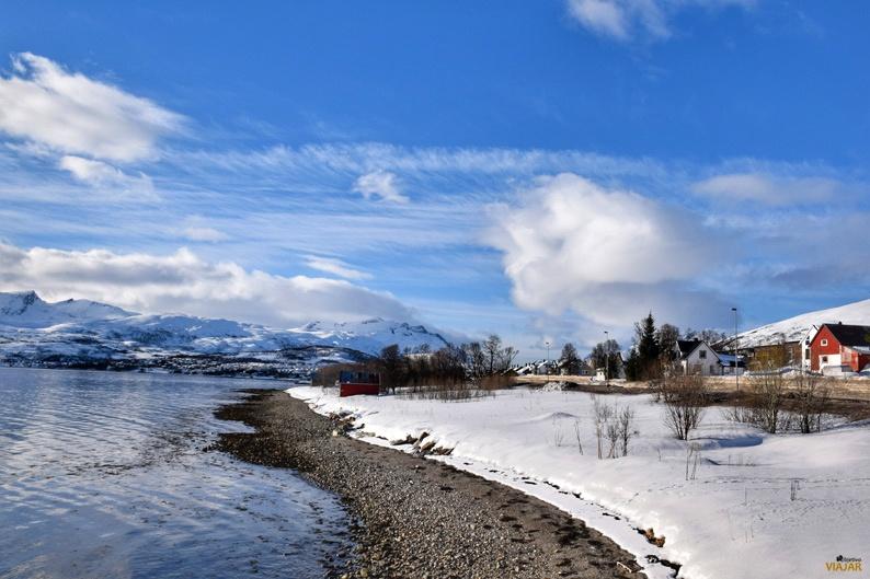 El rostro de los inviernos del norte. Laponia noruega