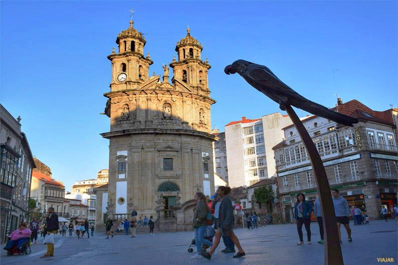 Iglesia de la Virgen Peregrina. Pontevedra