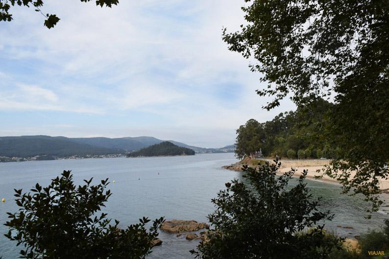 Playa de Lapamán. Terras de Pontevedra