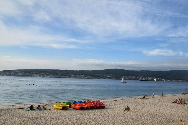Playa de Mogor. Terras de Pontevedra