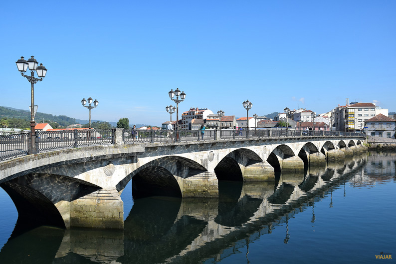 Ponte do Burgo. Pontevedra