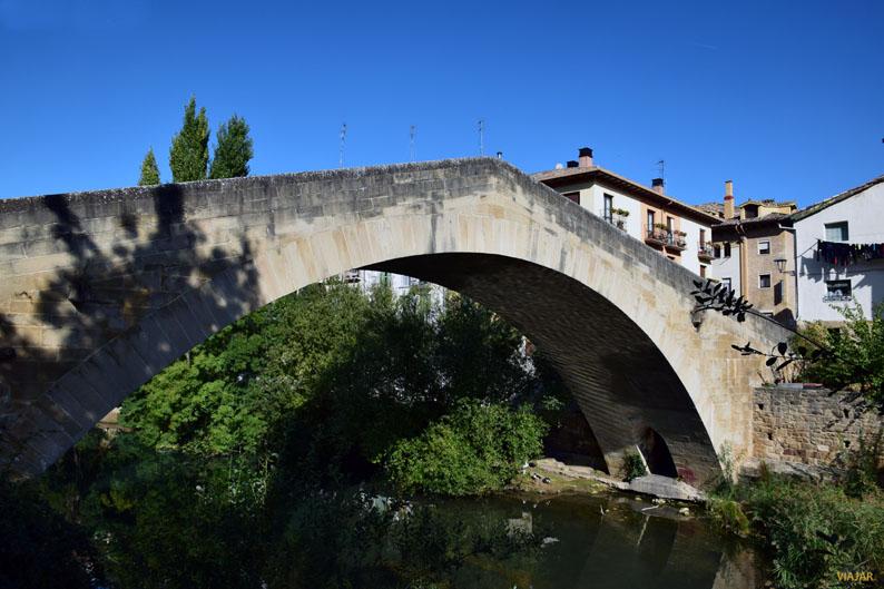 Puente de la Cárcel. Estella-Lizarra. Navarra