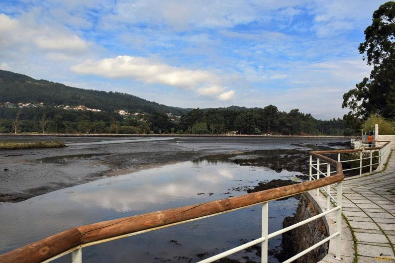 Salinas y marismas de Ulló. Terras de Pontevedra
