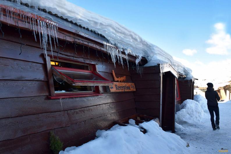 Tromsø Villmarksenter. Trineo de perros en la Laponia noruega