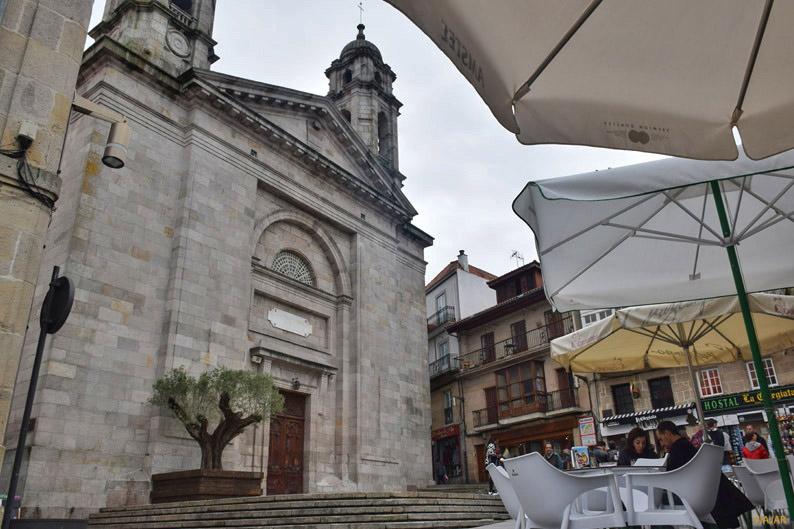 Concatedral de Vigo, conocida popularmente como La Colegiata